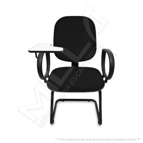 cadeira universitaria diretor escamotiavel em    s