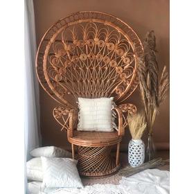 Cadeira Vime Emanuelle Pavão - Muito Nova