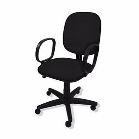 4f111c489 Cadeira Presidente Giratória Flex C  Braço Corsa - Cadeiras para ...