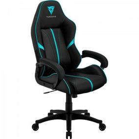 812f81ad1 Cadeira Gamer Profissional Air Bc-1 En61867 Preta ciano Thun
