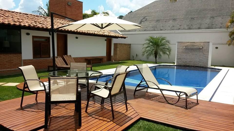 Cadeiras, Espreguiçadeira, Mesa, Piscina,Área Externa R$ 2 899,00 em Mercado Livre # Decoracao De Area Externa Com Piscina