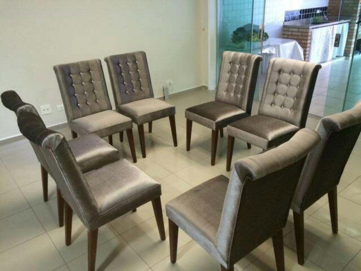 Cadeiras Para Sala De Jantar Em Bh ~ Cadeiras Estofadas Para Sala De Jantar  R$ 200,00 em Mercado Livre