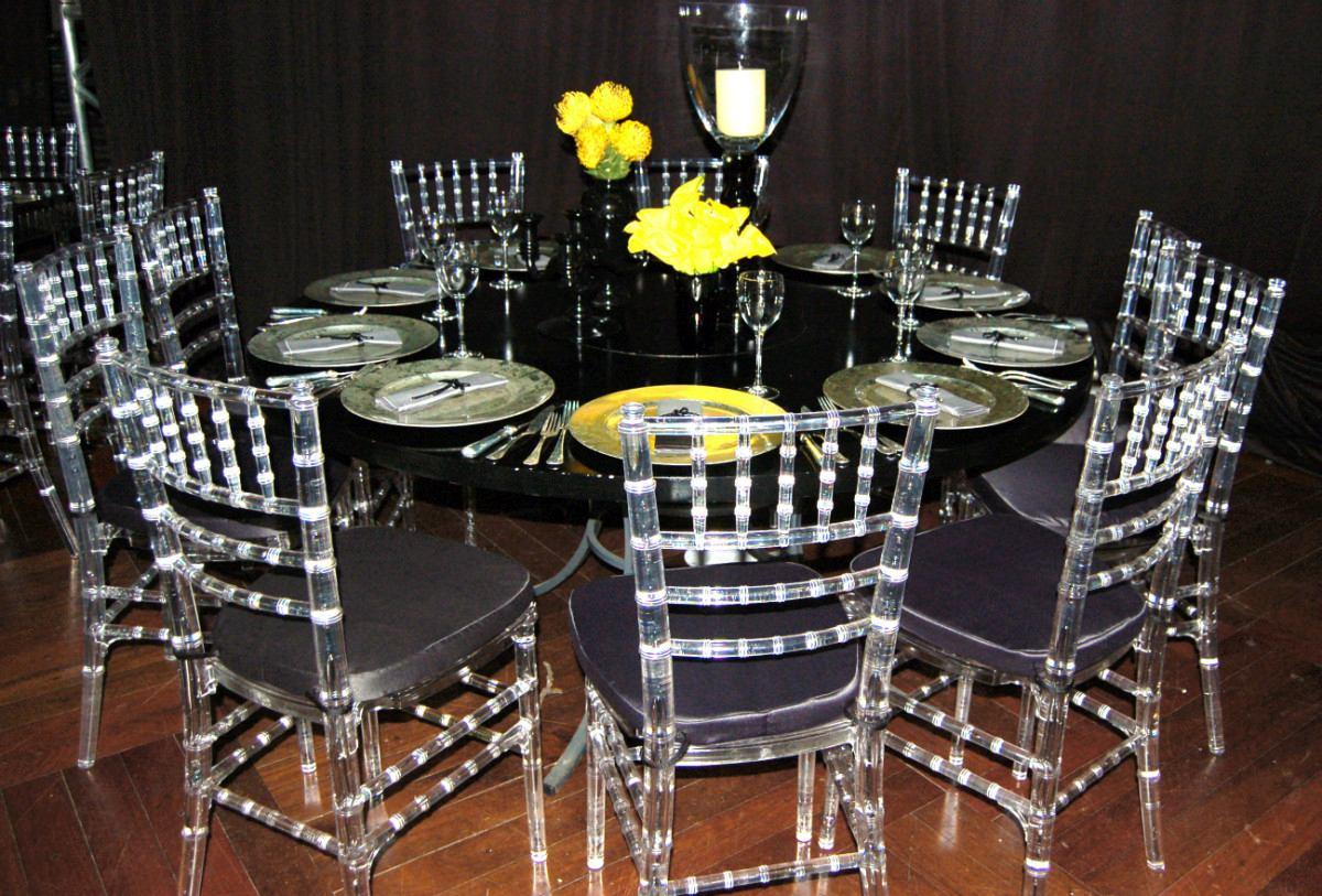 Cadeiras tiffany cristal atacado r 175 00 em mercado for Sillas cristal