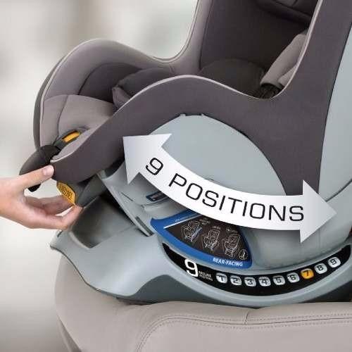 Cadeirinha Chicco Nextfit Convertible Car Seat Intrigue