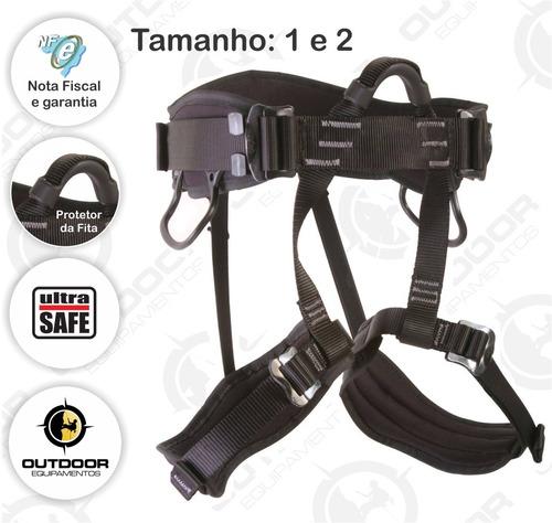 cadeirinha condor cinto rapel ultra safe tamanho t1 e t2