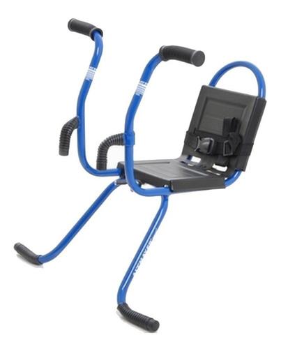 cadeirinha dianteira para bike infantil cinto segurança azul
