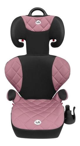 cadeirinha infantil carro assento elevado rosa tutti baby