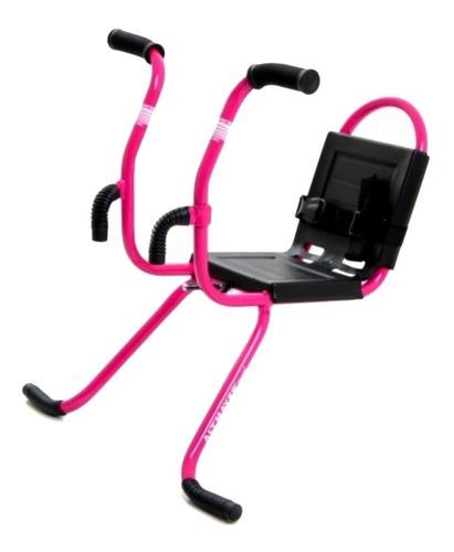 cadeirinha infantil dianteira bicicleta rosa altmayer al-01