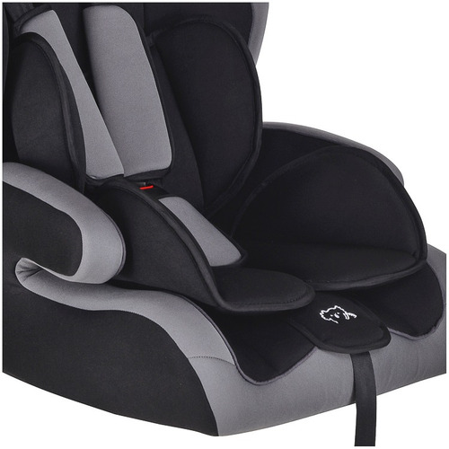 cadeirinha infantil para auto elegante preto/cinza 563