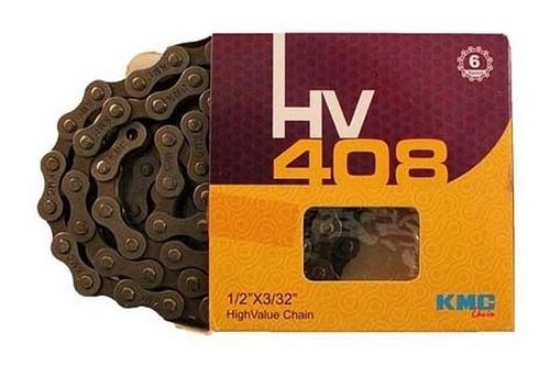 cadena 1/2 x 3/32 kmc hv408 caja