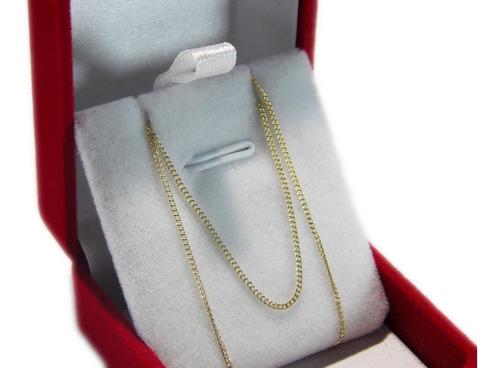 cadena 23 oro amarillo 18k groumet joyeria esponda