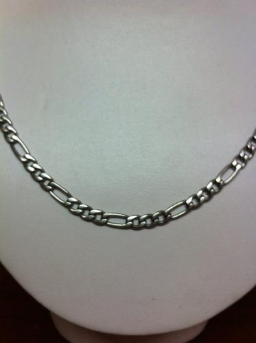 cadena  60cm largo x  5mm ancho en acero