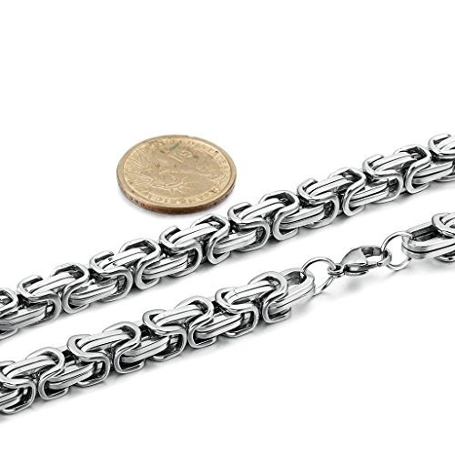 cadena acero collar
