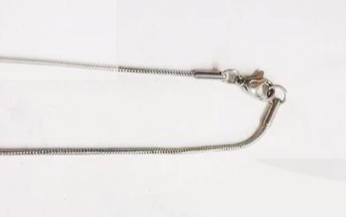 cadena acero quirúrgico clapton 45,50,60cm excelente calidad