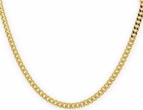 3f0eb1d1d841 Cadenas Oro - Collares y Cadenas Sin Piedras en Mercado Libre México