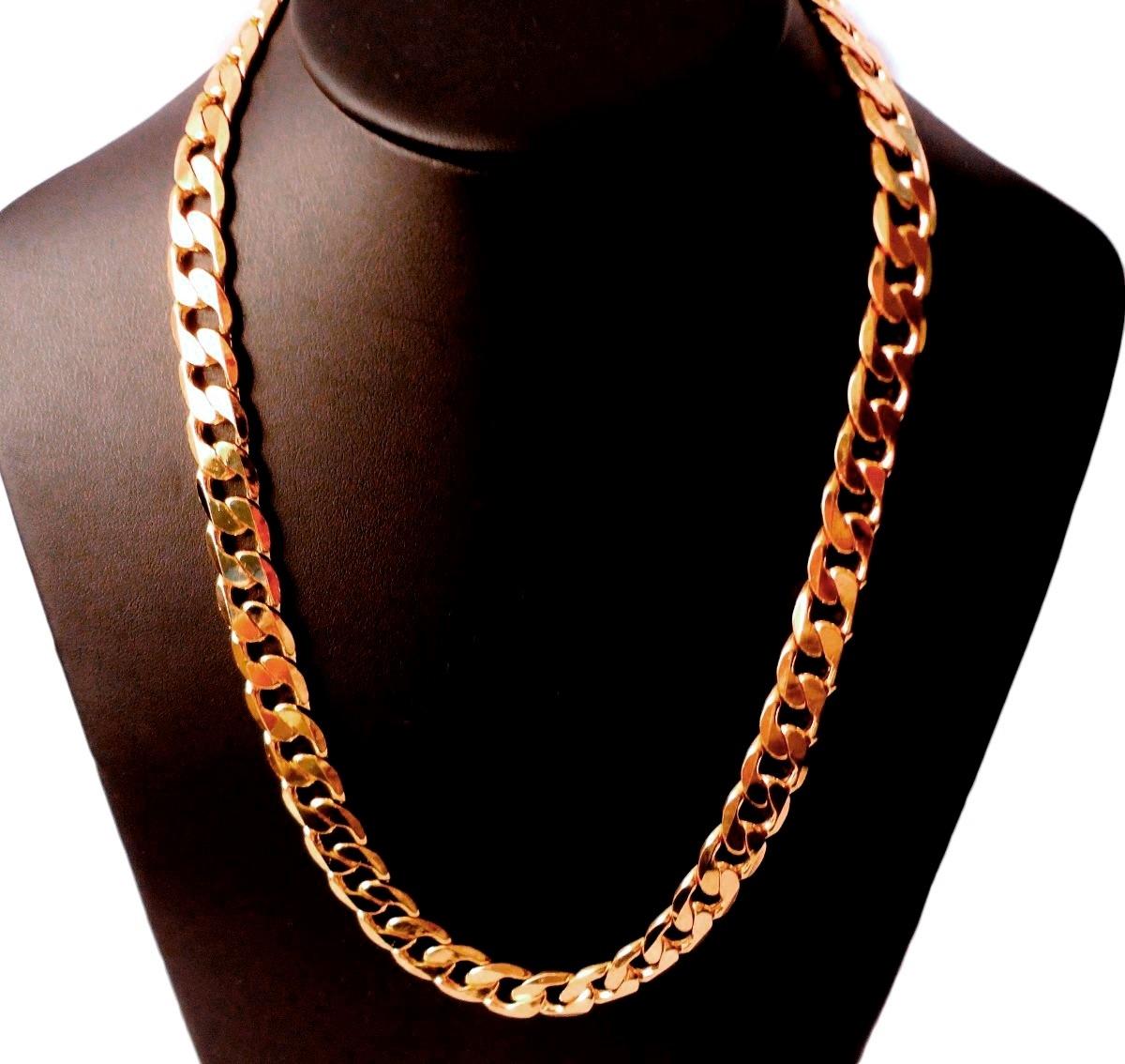 lo último f477b 75e13 Cadena Barbada De Oro Macizo 10k 65cm. Pesa 95grs Solid Gold