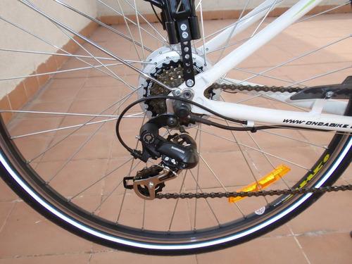 cadena bicicleta 8 pasos shimano hg-40 altus 116 eslabones !