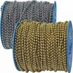 cadena bola laton antiguo 2,4 mm y 200 m