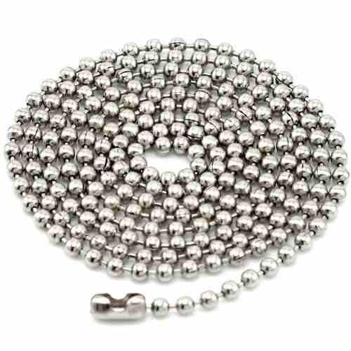 cadena bola laton antiguo 3,2 mm y 100 m