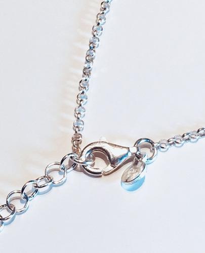 cadena bolitas plata 925 mujer capl156  | garantía escrita