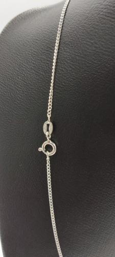 cadena brillante de plata fina 925 dama de taxco 60cm mujer