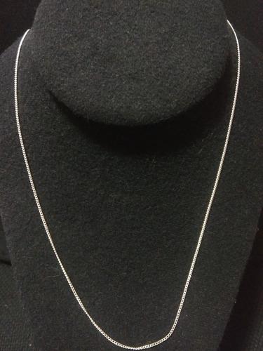 cadena brillante de plata fina 925 dama de taxco 70cm mujer