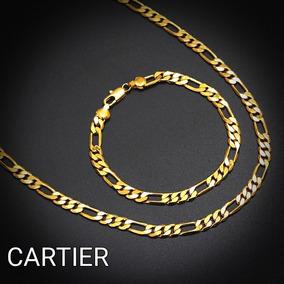 77e6e135bb00 Cadena Cartier Diamantada Oro 14k - Joyas en Mercado Libre Perú