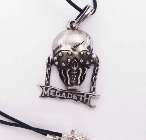 cadena collar de calavera megadeth skpalace excelente