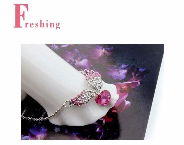 e151a3cd1c57 Cadena Collar De Corazón Para Mujer De Bisutería Fina. - U S 12