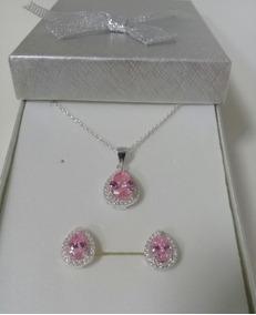 Plata Maciza Colgante Ámbar Y Pendientes Set Marquesita Diseño Diamonds & Gemstones