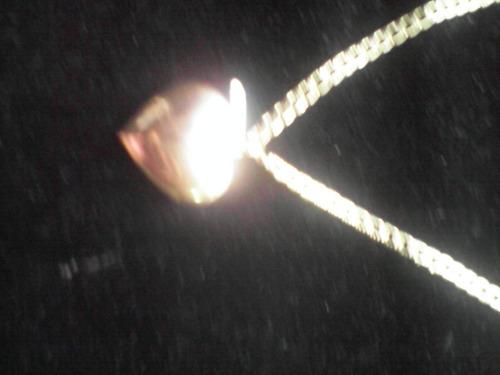 cadena con dije de oro laminado