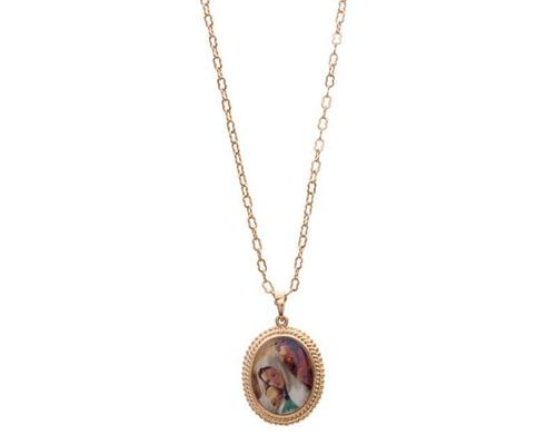 cadena con recubrimiento de oro vatican pm-8238993