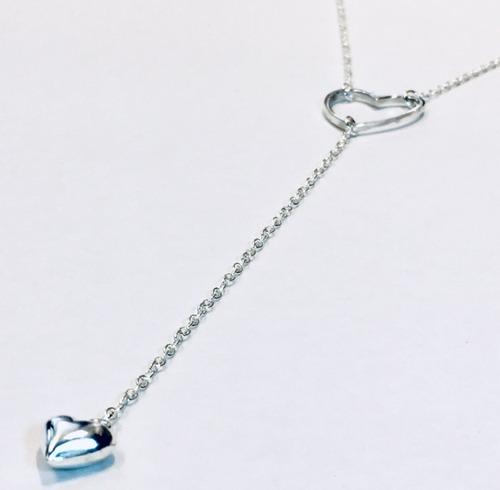 cadena corazón plata 925 mujer capl225  | garantía escrita