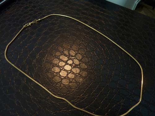 cadena cordón oro 18kt importada