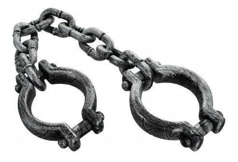 cadena cotillon para preso 53cm halloween