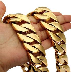 8dcc90a4eb77 Cadena De Oro Tejido Barbado - Collares y Cadenas Oro Sin Piedras en Mercado  Libre México