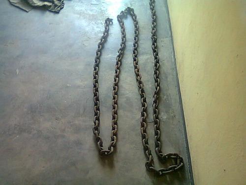 cadena   de  6  metros  de remolque