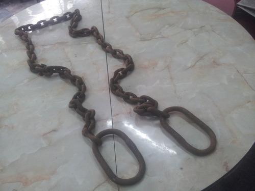 cadena de acero 50 mm.