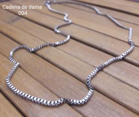 6550e6f995b3 Cadena De Acero Dama - Joyería y Bisutería Collares Acero en Mercado Libre  Venezuela