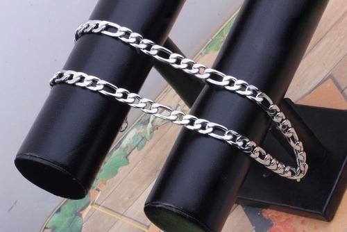 cadena de acero quirurgico para hombre 7.5mm