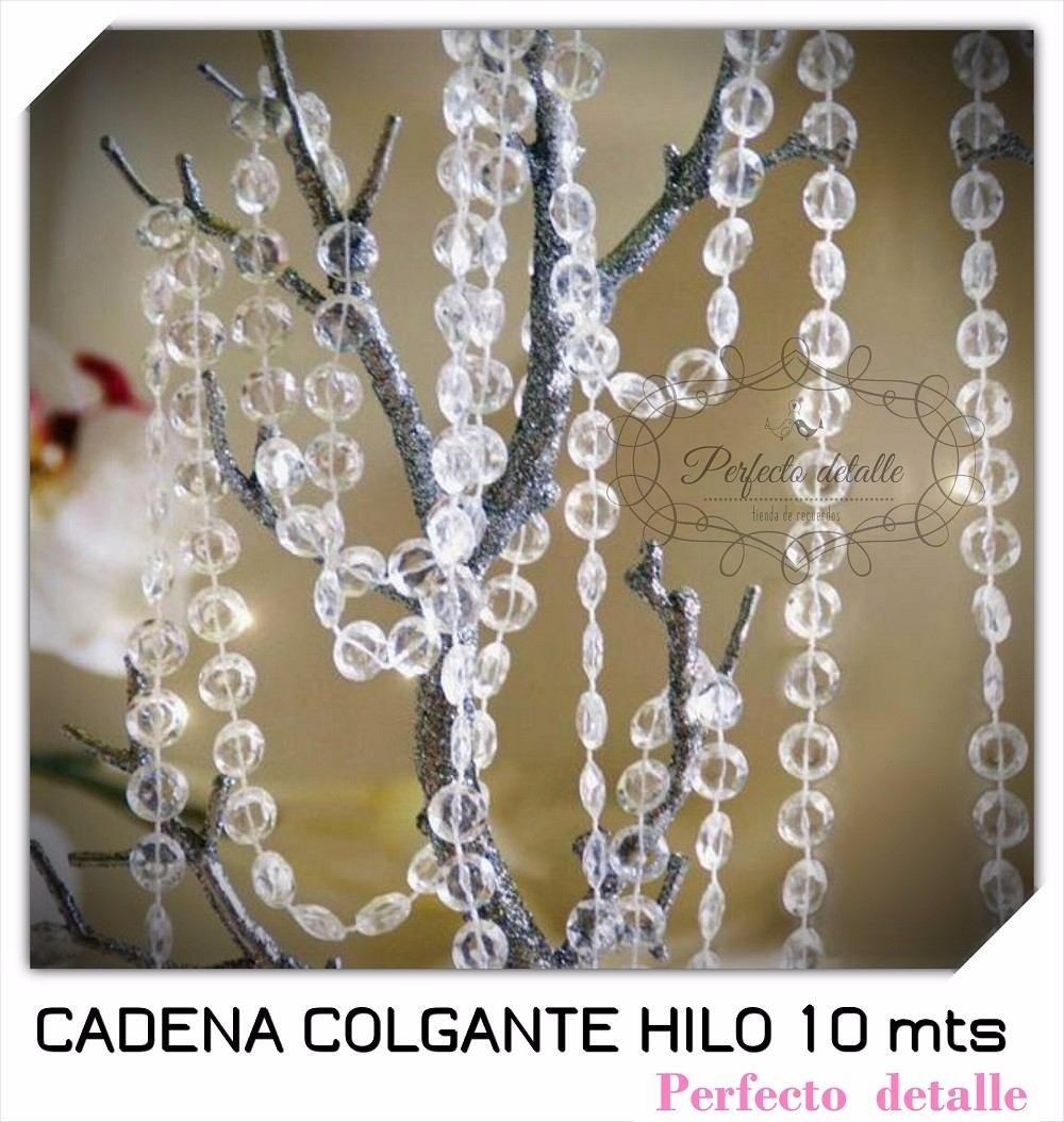 Cadena de acrilicos 10 metros hilos para hacer cortina - Cortinas ya hechas ...