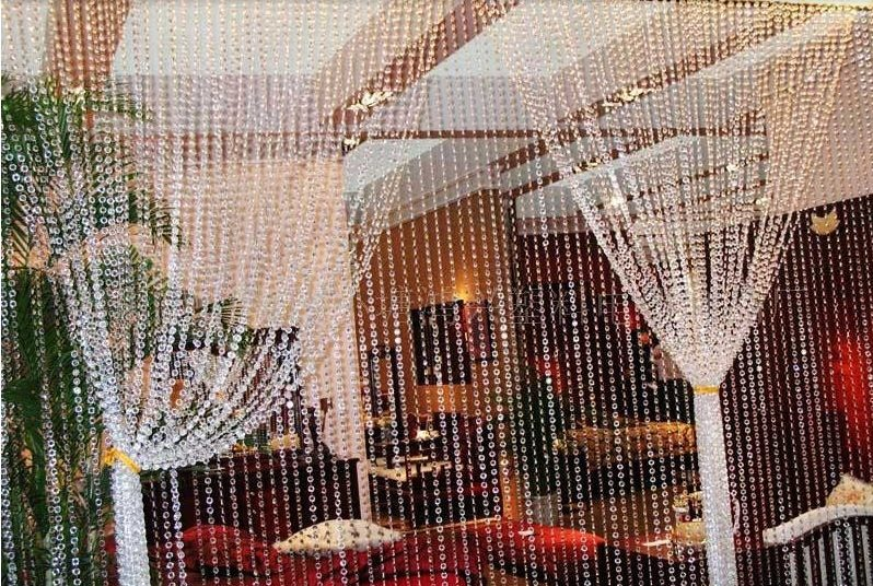 Cadena de acrilicos 5 metros hilos para hacer cortina - Cortinas de cadenas ...