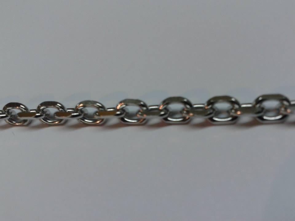 b459cf167175 cadena de eslabones plata 925 gruesa rolo forcet figaro h 50. Cargando zoom.