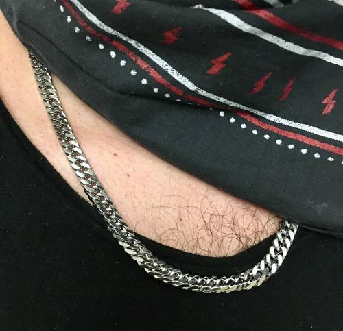 cadena de hombre acero quirúrgico deluxe