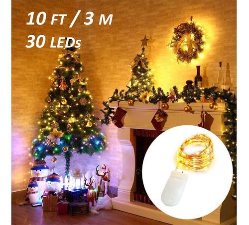 cadena de luces led decorativas