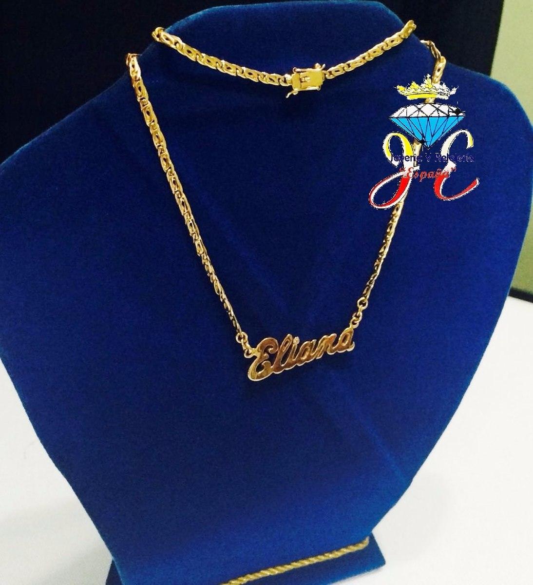 ad08e137d07a cadena de oro 18k mónaco personalizado mujer mod 17 jespaña. Cargando zoom.