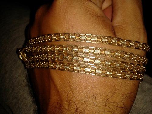 cadena de oro 18k para caballero