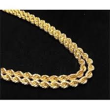00a736c0b46b Oro 750 Italy - Collares y Cadenas Oro Sin Piedras en Mercado Libre México