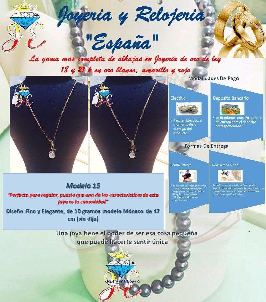 ea3193dbf426 cadena de oro fino 18k monaco mujer 10gr mod 15 joya sindije. Cargando zoom.
