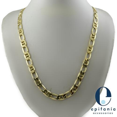 cadena de oro laminado 18k para caballero